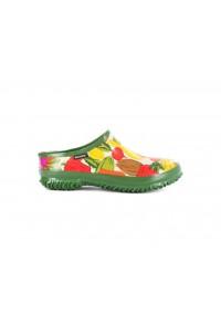 Dámské boty Urban Farmer slide - zelené MULTI
