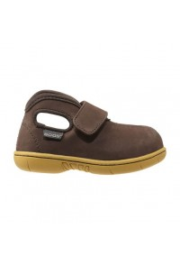 Dětské boty Baby Bogs Classic Mid Nubuck - chocolate