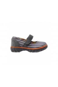 Dětské boty Hop Scotch Maryjane - Gray Multi