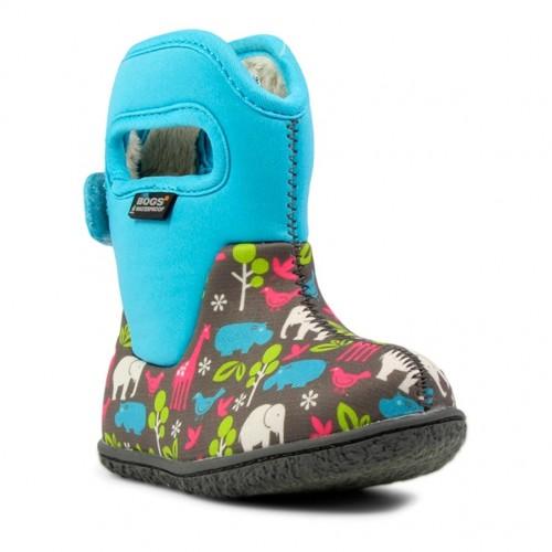 Dětské boty Baby Bogs Classic Animals - Aqua ... bd3a4bfb66
