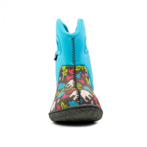 ... Dětské boty Baby Bogs Classic Animals - Aqua ... 5d4dfdee1a