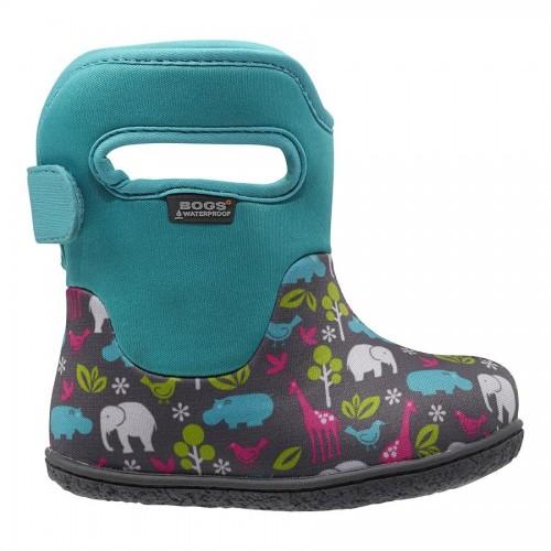 Dětské boty Baby Bogs Classic Animals - Aqua c5b08c8987