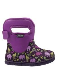 Dětské boty Baby Bogs Classic Animals - Purple Multi