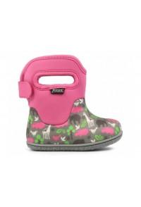 Dětské boty Baby Bogs Classic Animals - Pink Multi