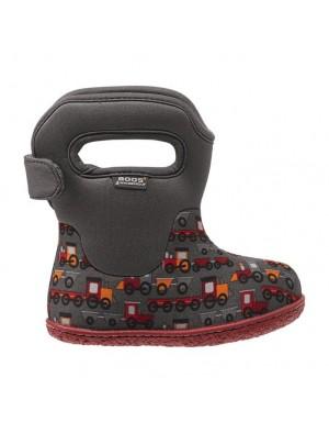 Dětské boty Baby Bogs Classic Choo Choo - Gray Multi