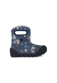 Dětské boty B-Moc Kids Puff Owl - Navy Multi