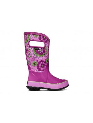 Dětské boty RAIN BOOTS PANSIES BERRY MULTI