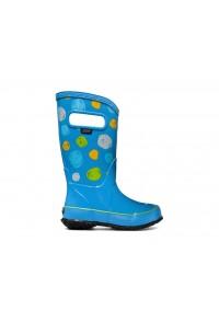 Dětské boty RAIN BOOTS SKETCH DOTS SKYBLUE MULTI