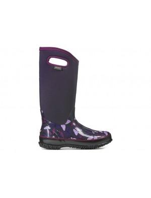Dámské boty Classic High Butterfly - fialové