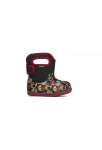 Dětské boty Baby Bogs Classic Kiddie Cars - Black Multi