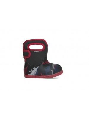 Dětské boty Baby Bogs Classic Dino - Black Multi