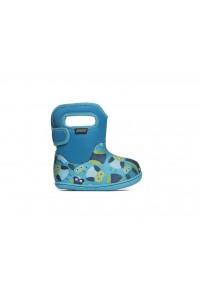 Dětské boty Baby Bogs Classic Owls - Blue Multi