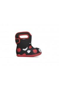 Dětské boty Baby Bogs Classic Sketched Dots - Black Multi