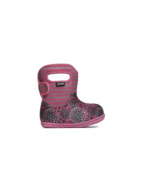 Dětské boty Baby Bogs Pansy - Pink Multi