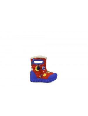 Dětské boty B-Moc SPACE RED multi