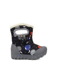 Dětské boty B-Moc SPACE BLACK multi