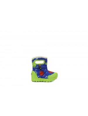 Dětské boty B-Moc SPACE BLUE multi