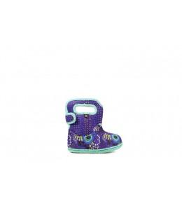 Dětské boty Baby Bogs Classic NEW FLOWER VIOLET multi