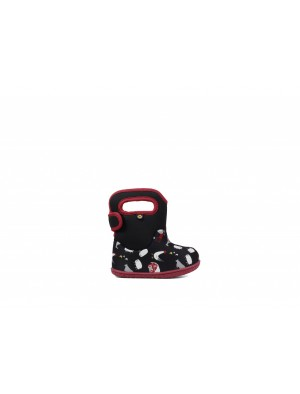 Dětské boty Baby Bogs Classic FARM BLACK multi