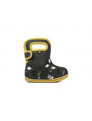 Dětské boty Baby Bogs Classic FARM LODEN multi