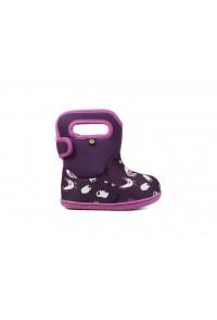 Dětské boty Baby Bogs Classic FARM PURPLE multi