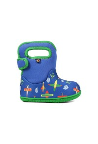 Dětské boty Baby Bogs Planes - Blue Multi