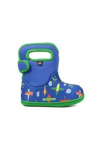 Dětské boty Baby Bogs Planes - Blue Multi