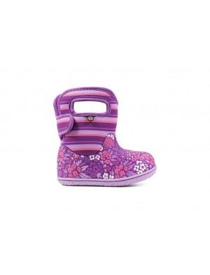 Dětské boty Baby Bogs Classic Northwest Garden Purple