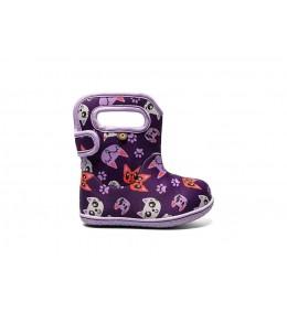 Dětské boty Baby Bogs Kitty - Purple Multi