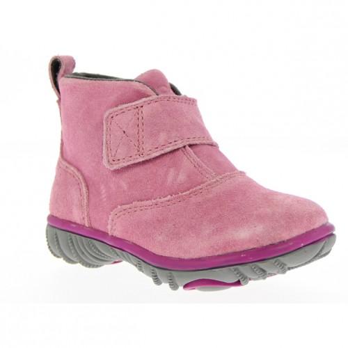 d053a0493d1 Dětské boty Wall Ball Hook+Loop Boot - růžové ...