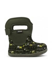 Dětské boty Baby Bogs Classic Choo Choo - Dark Green Multi