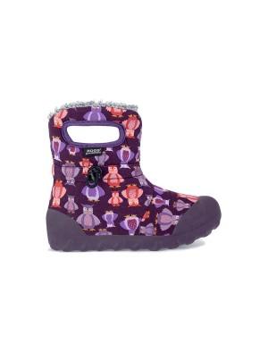 Dětské boty B-Moc Kids Puff Owl - Purple Multi