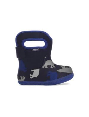 Dětské boty Baby Bogs Classic Polar Bear - Black Multi
