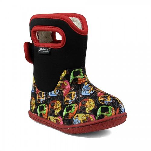 Dětské boty Baby Bogs Classic Kiddie Cars - Black Multi ... fee7665691