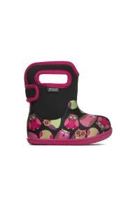 Dětské boty Baby Bogs Classic Owls - Black Multi