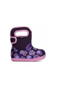 Dětské boty Baby Bogs Classic Owls - Purple Multi