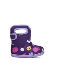 Dětské boty Baby Bogs Classic Sketched Dots - Purple Multi