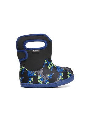 Dětské boty Baby Bogs Classic Axel - Black Multi