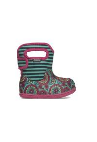 Dětské boty Baby Bogs Pansy - Emerald Multi