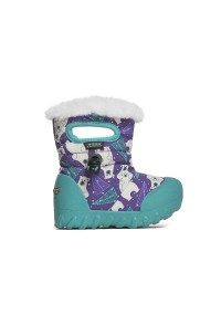 Dětské boty B-Moc Bears - Purple Multi