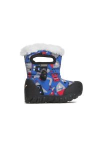 Dětské boty B-Moc Monsters - Light Blue