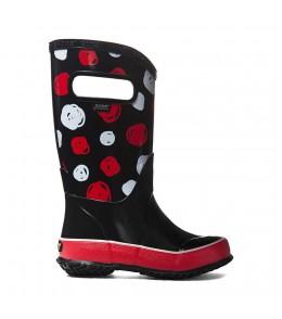 Dětské boty RAIN BOOTS SKETCH DOTS BLACK MULTI