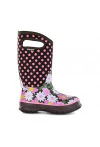 Dětské boty Classic Flower Dots - Coffee