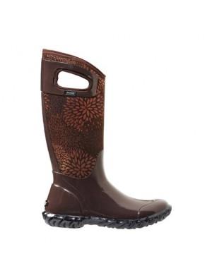Dámské boty North Hampton Floral - Chocolate
