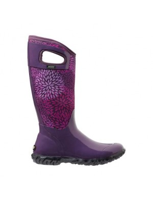 Dámské boty North Hampton Floral - Plum